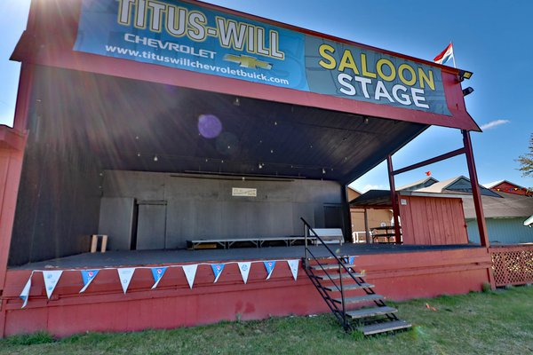 Saloon Stage